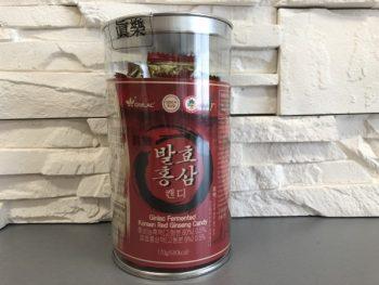 Bonbony S červeným ženšenem