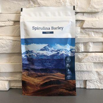 Spirulina Barley Tablety