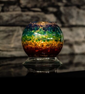 Relaxační Svícen ViaHuman – Rainbow 90mm
